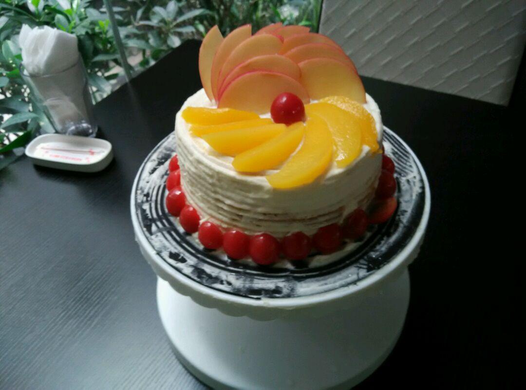 生日蛋糕花式制作的做法图解7
