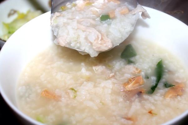 章鱼鲜肉粥的做法
