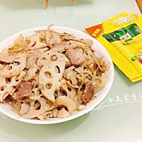 莲藕炒肉#鲜有赞,爱有伴#