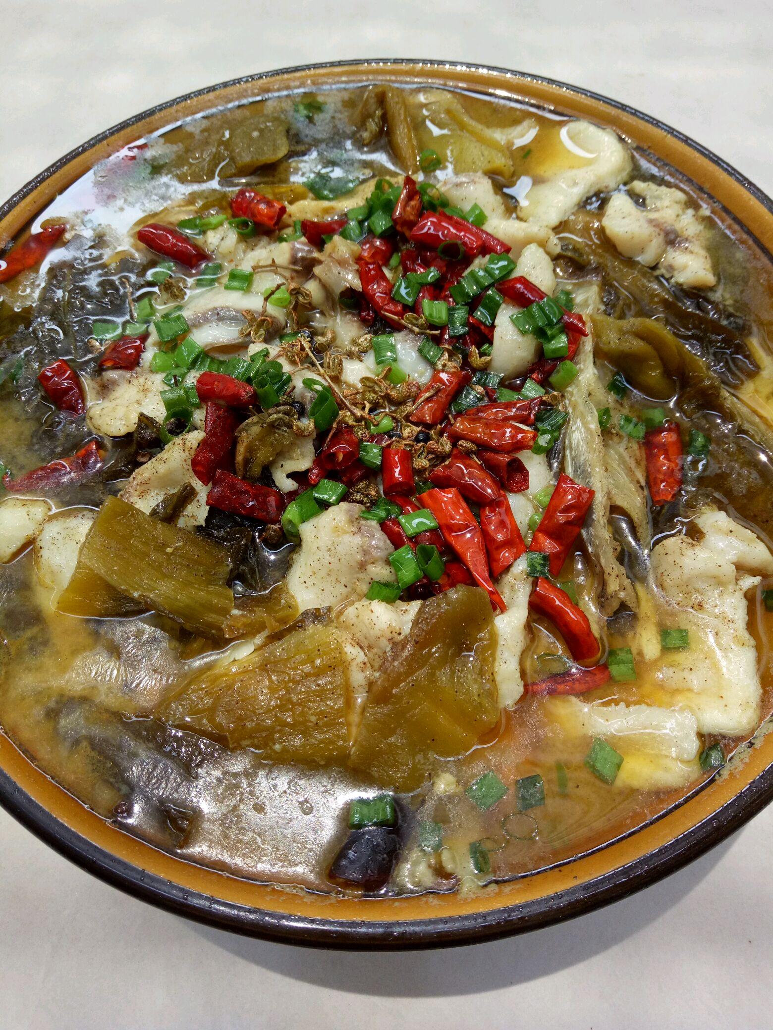 麻辣酸菜鱼的做法