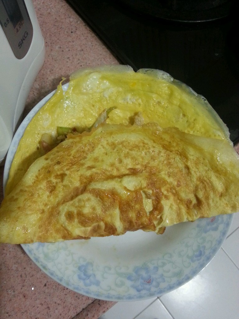 蛋包饭的做法图解11