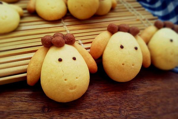 小羊曲奇饼干的做法