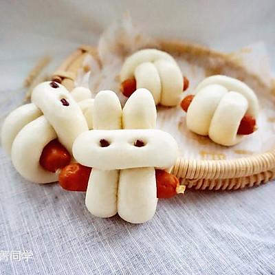 小兔子香肠馒头卷#福临门好面用芯造#
