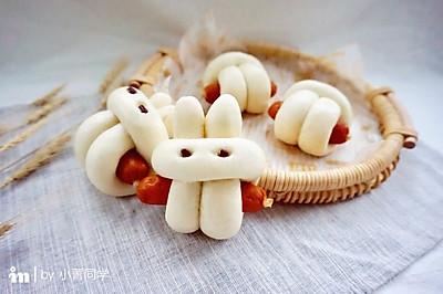 小兔子香肠馒头卷