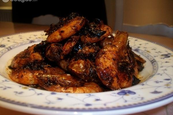 豆瓣酱烧大虾的做法
