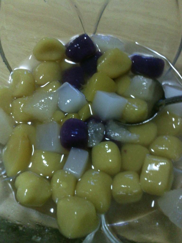 营养丰富的多彩芋圆的做法