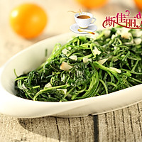 蒜蓉炒白苋菜