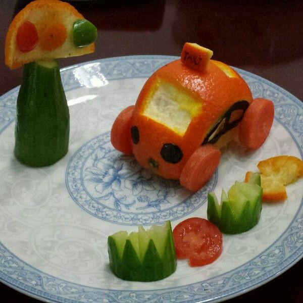 创意水果拼盘的做法_【图解】创意水果拼盘怎么做如何