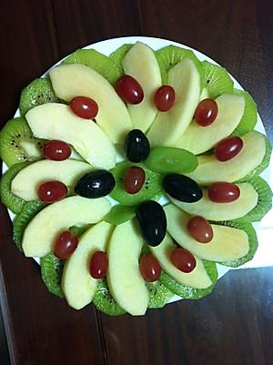 快乐小虾的水果拼盘的做法的评论
