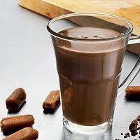 焦糖热巧克力