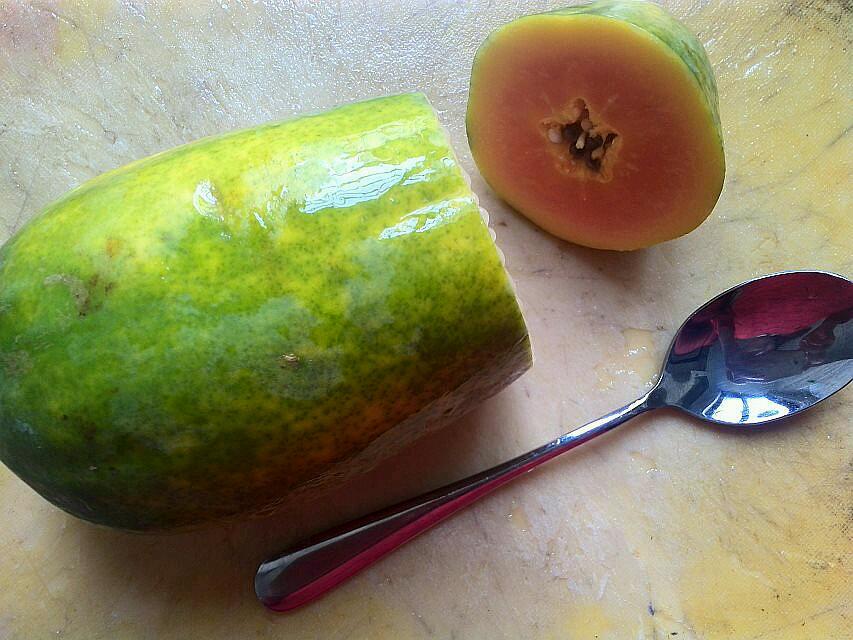 木瓜牛奶冻的做法图解1