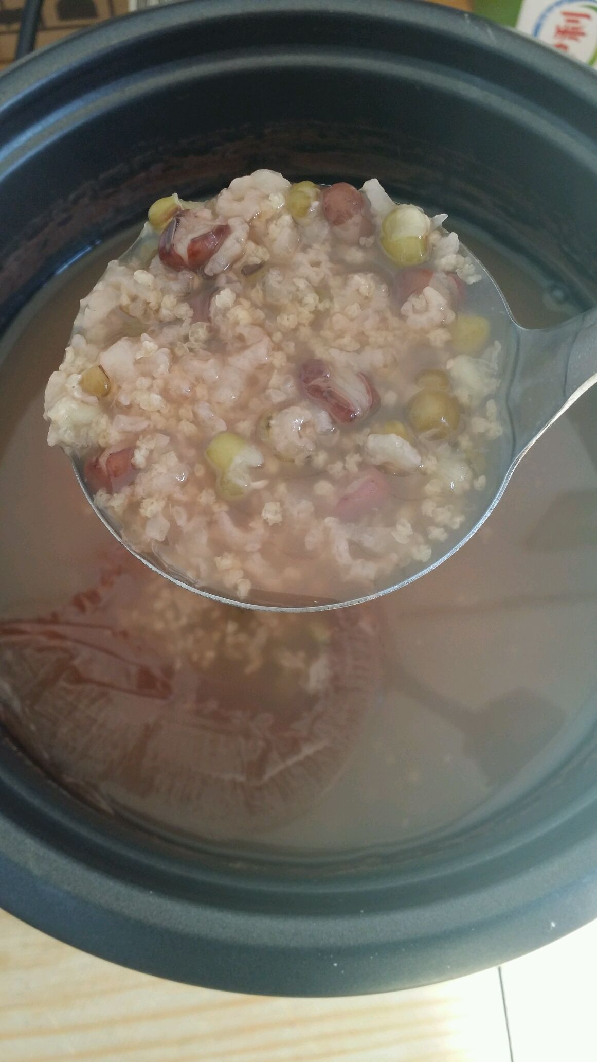 宝宝红豆绿豆粥的做法步骤