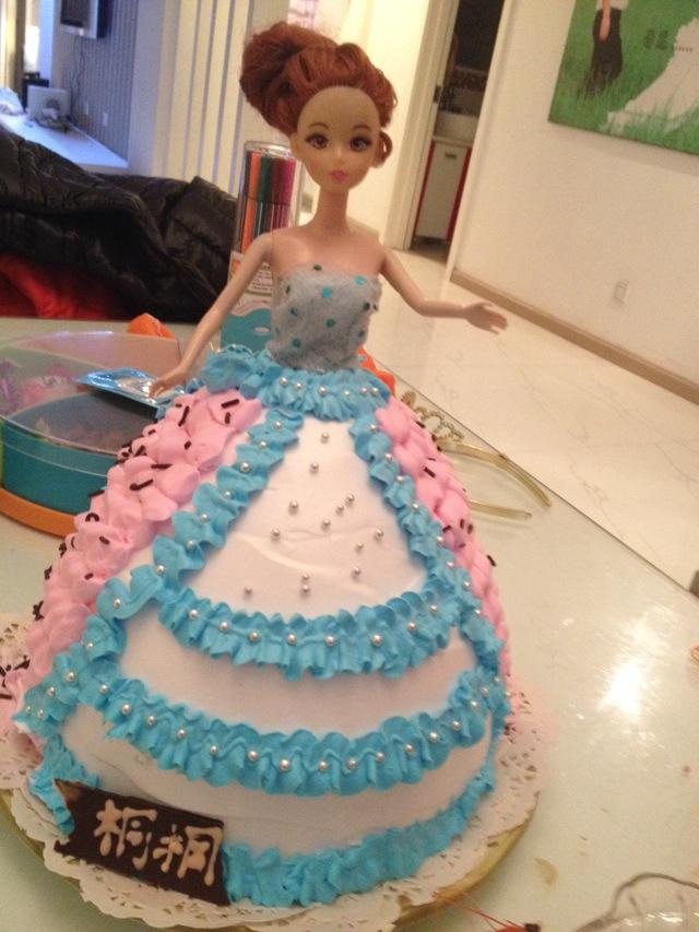 公主生日蛋糕的做法步骤