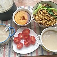 芡实栗子核桃米糊#美的早安豆浆机#