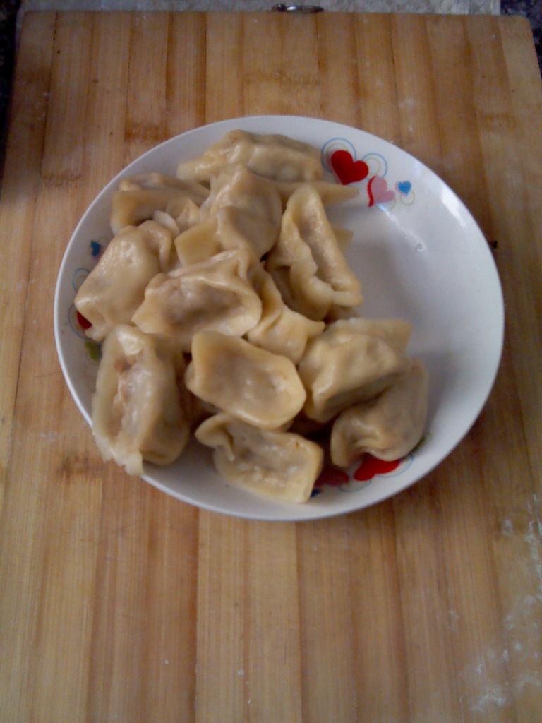 孜然粉煎剩饺子的做法步骤