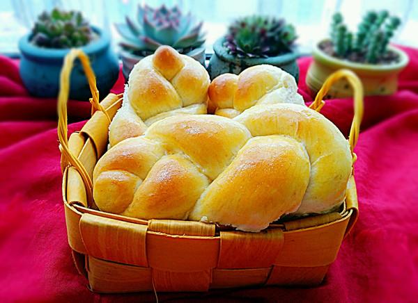 低糖玉米油燕麦面包(汤种法)