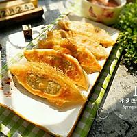 猪肉荠菜煎饺#舌尖上的春宴#
