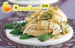 椒香芦笋鸡的做法