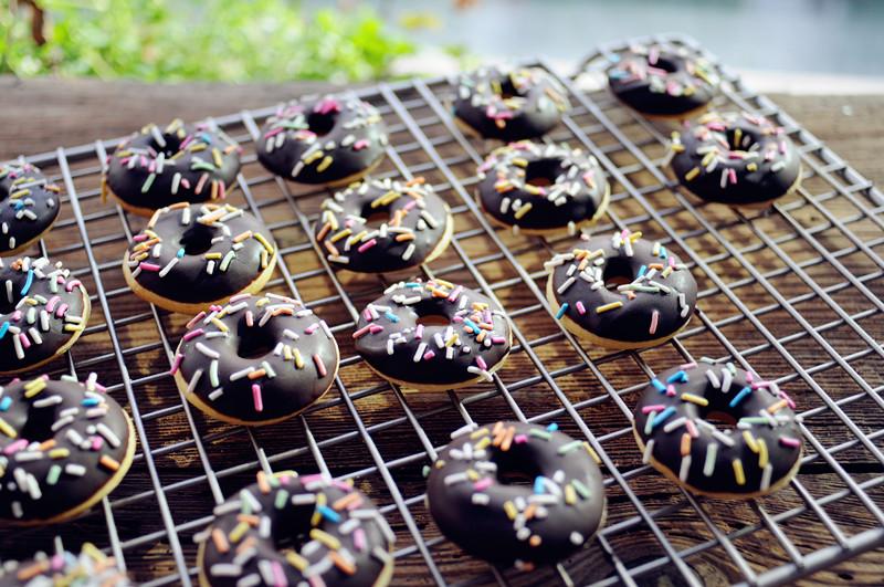 缤纷巧克力迷你甜甜圈#疯狂动物城
