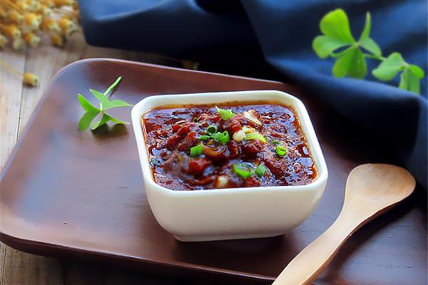 【沙茶美食】自制开胃下饭的沙茶肉末酱的做法