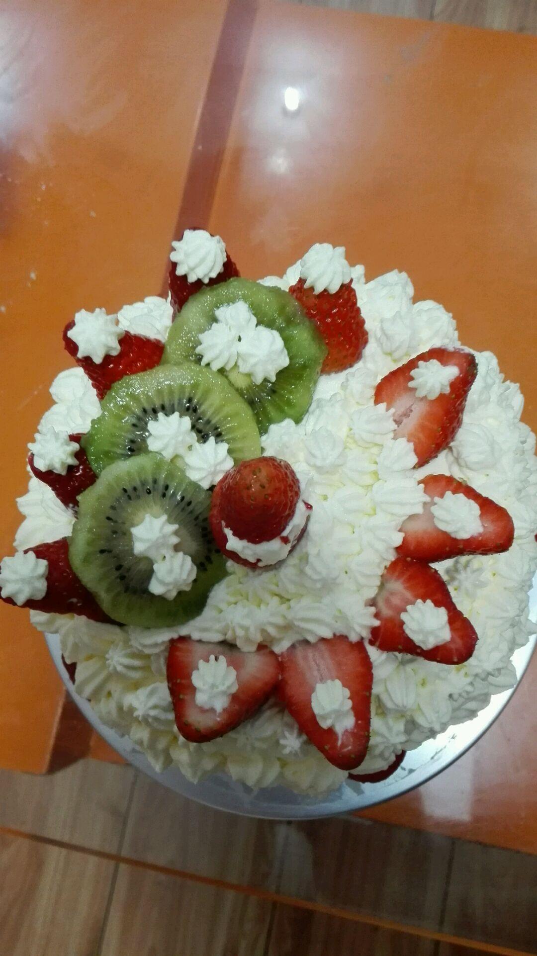 生日蛋糕的做法图解7