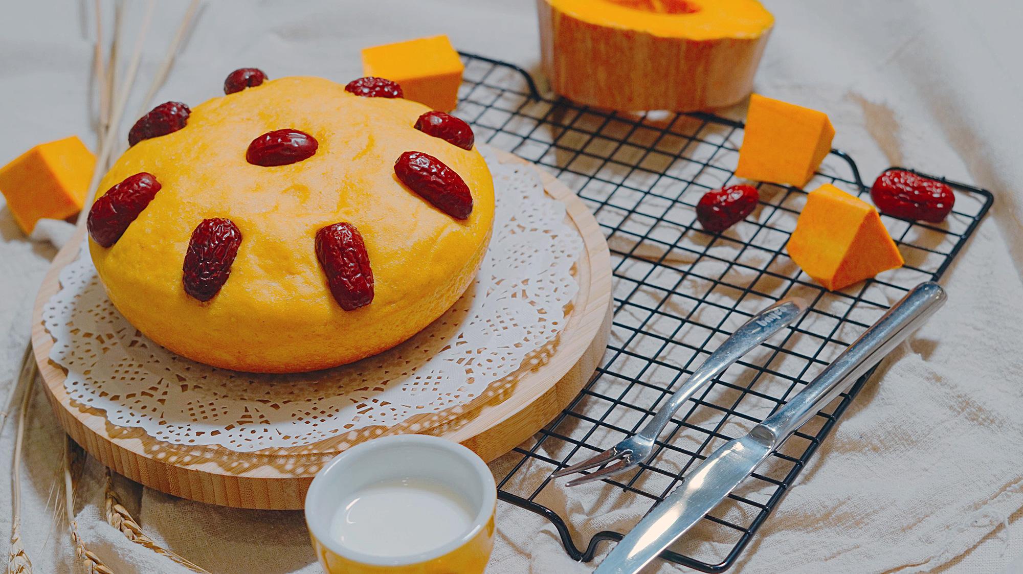 南瓜发糕的做法_【图解】南瓜发糕怎么做如何做好吃