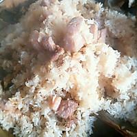 荷叶肉蒸糯米