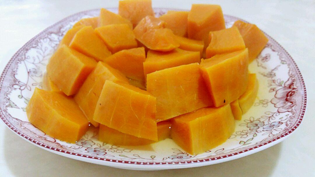 清蒸南瓜的做法_【图解】清蒸南瓜怎么做如何做好吃