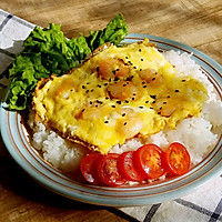 简单的美味家常早餐『虾仁滑蛋』盖饭