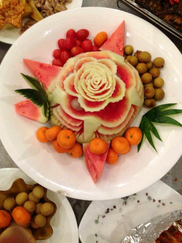 水果拼盘的做法_【图解】水果拼盘怎么做好吃图片
