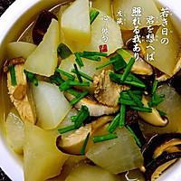 白萝卜香菇炖瘦肉