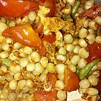 玉米西红柿炒蛋