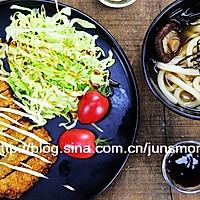 日式炸猪排+乌冬面
