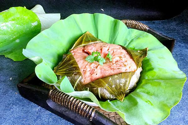 炒菜煲汤临锅时加入提鲜不口干 荷叶粉蒸肉的做法步骤 小贴士 米粉