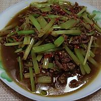 快炒芹菜牛肉丝的做法图解6