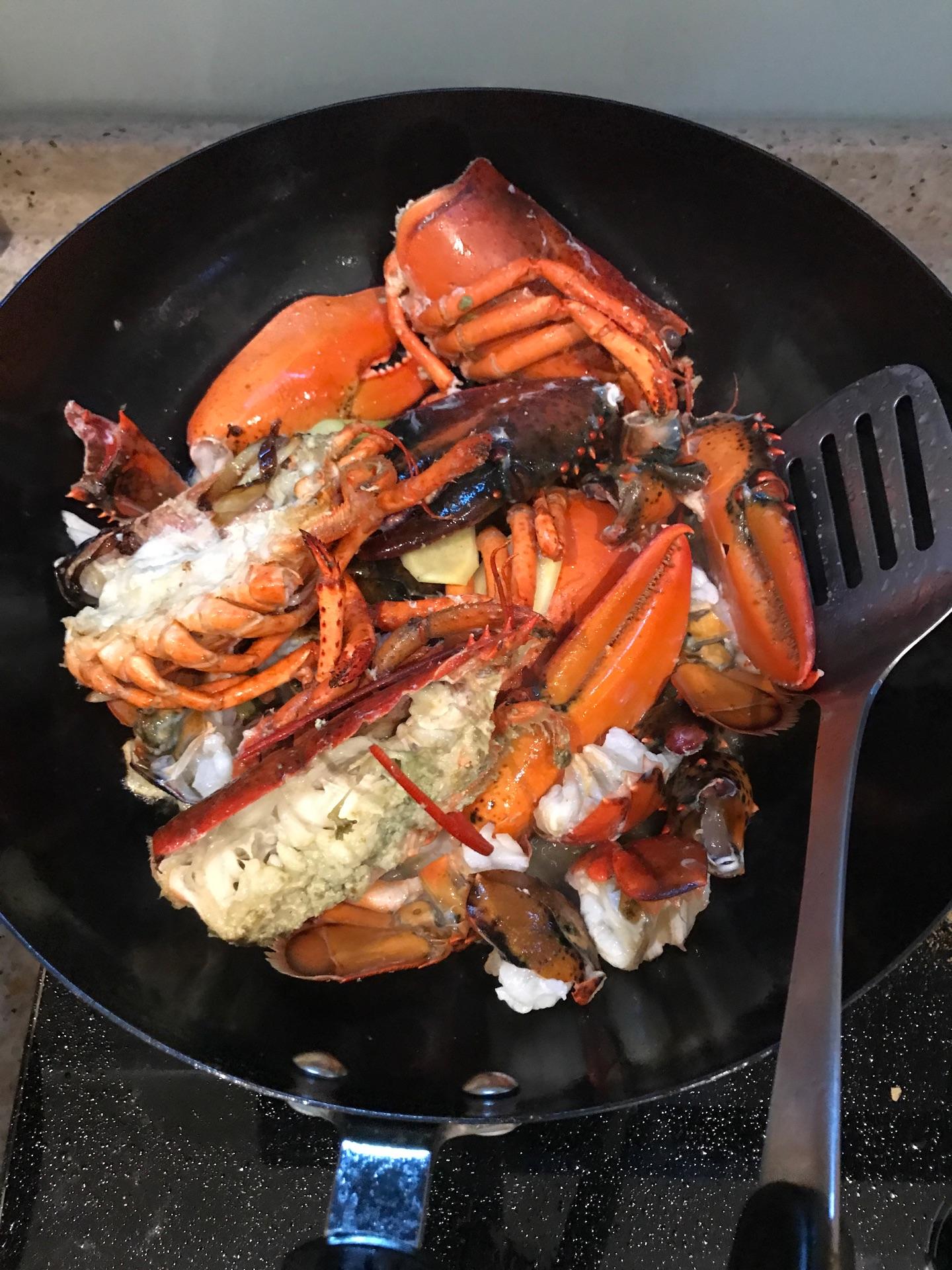 咖喱波士顿龙虾的做法图解6