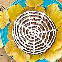 万圣节   蜘蛛网面巧克力蛋糕
