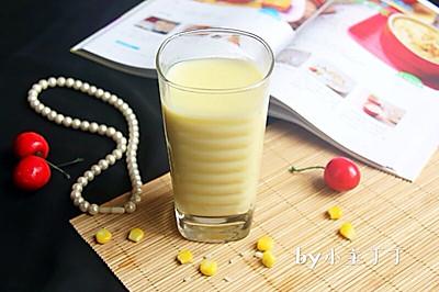 奶香丝滑的【糯米玉米汁】#七彩七夕#