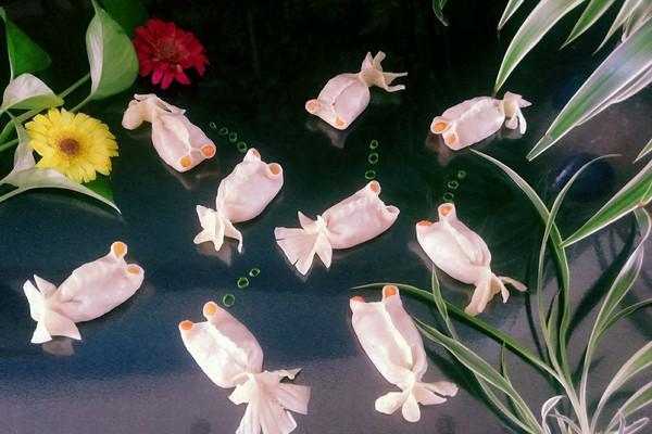 小鱼花式蒸饺#方太蒸爱行动#的做法步骤        本菜谱的做法由  编写