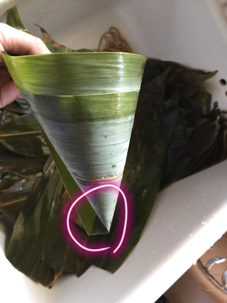 红豆花生甜粽(详细包法)的做法步骤