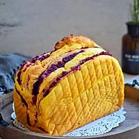南瓜紫薯面包#柏翠辅食节-烘焙零食#