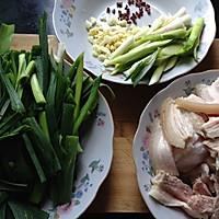 蒜苗回锅肉的做法图解5