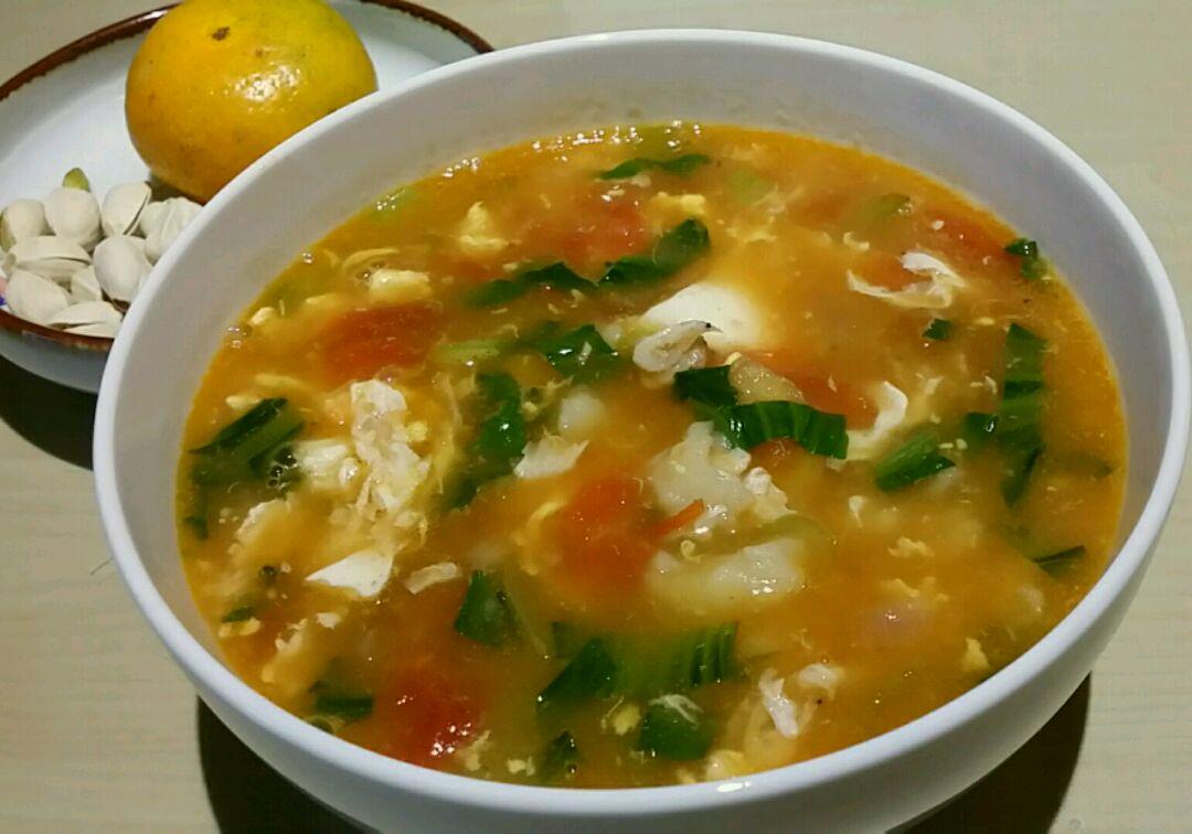 萝卜缨子疙瘩汤的做法_【图解】萝卜缨子疙瘩汤怎么做
