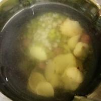 薏米绿豆百合饮的做法图解2
