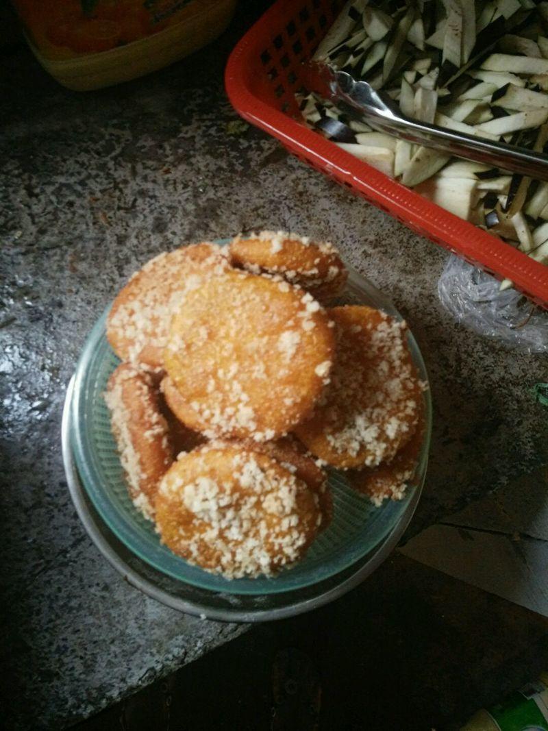豆沙馅南瓜饼的做法_【图解】豆沙馅南瓜饼怎么做如何