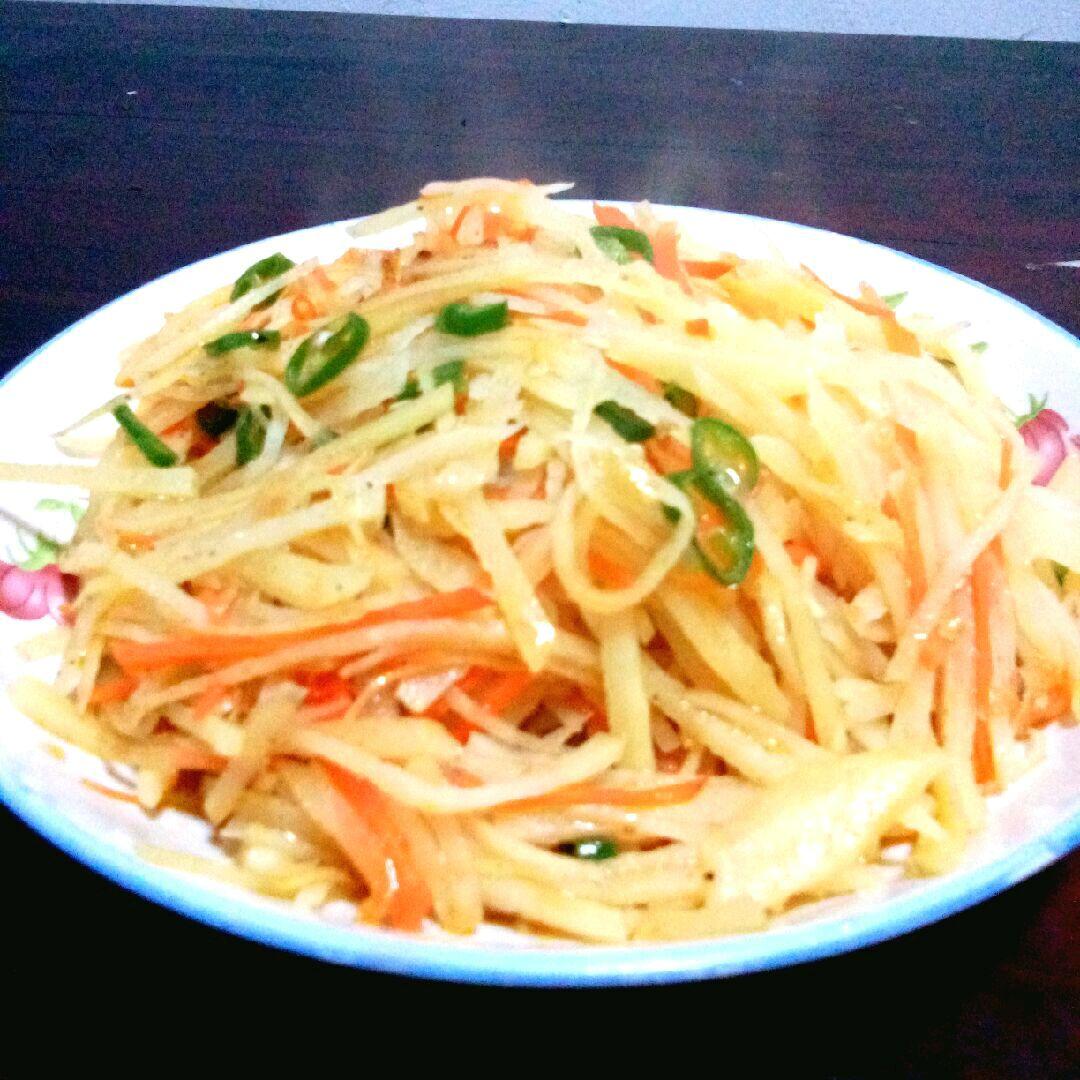 红烧土豆丝的做法步骤