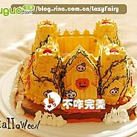 万圣节城堡南瓜酸奶慕斯蛋糕