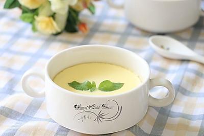 滑嫩牛奶蒸鸡蛋#方太蒸爱行动#