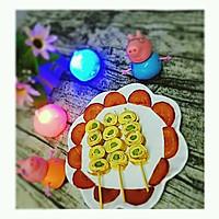 芦笋鸡蛋卷(棒棒糖版)#嘉宝笑容厨房#的做法图解10