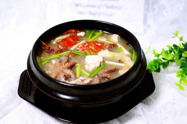 海鲜豆腐煲#厨此之外,锦享美味#的做法